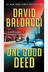 One Good Deed (An Archer Novel) Kindle Edition