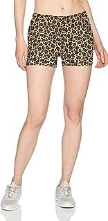 leopard booty shorts