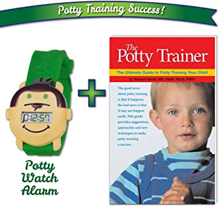Potty Monkey Watch with The Potty Trainer Book