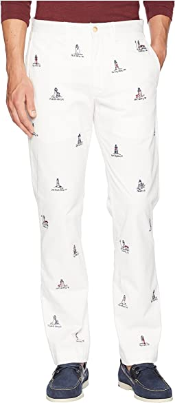 Cotton Stretch Twill Bedford Flat Pants