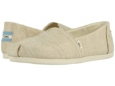 TOMS Alpargata 3.0 (Natural Metallic Jute) Women
