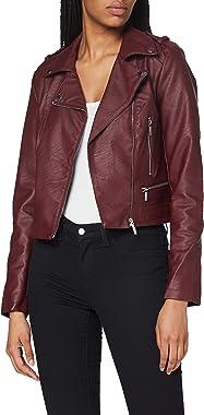 Morgan Perfecto Simili Cuir Grammo Faux Leather Jacket Femme
