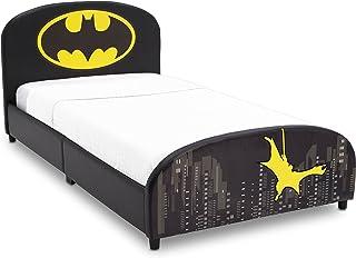 Delta Children Upholstered Twin Bed, DC Comics Batman