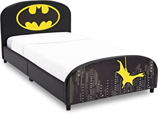 Delta Children Upholstered Twin Bed, DC Comics Batman