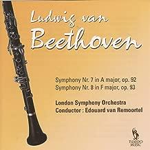 Beethoven: Symphony No. 7, Op. 92 & No. 8, Op. 93