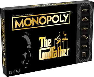 Winning Moves The Godfather Monopoly Board Game