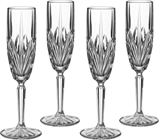 Marquis by Waterford Brookside 6-Ounce Champagne Flutes, Set of 4 by Marquis By Waterford