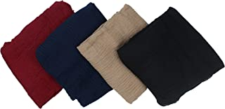 4 Mix Colour Cotton Crinkled Lightweight Hijab Scarf Wrap Shawl Woman Girl