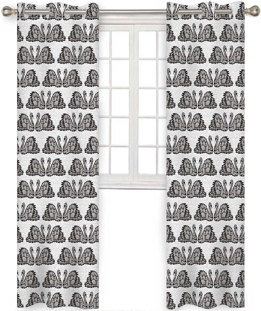 Blackout Curtain Liners 96 Inch Abstract Long Long-awaited New mail order Wings Window Curt