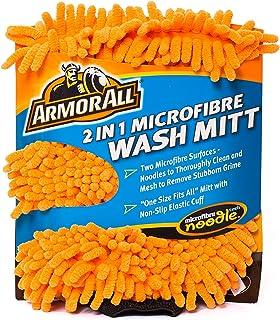 ARMORALL 2 In 1 Microfibre Noodle Wash Mitt 16.5cm