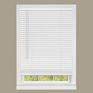 "Achim Home Furnishings DSG231WH06 Deluxe Sundown G2 Cordless Blinds, 31"" x 64"", White"