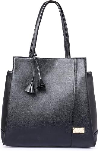 Speed X Fashion Women's Handbag (NSB-010-Black_Black)