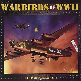 Warbirds of WWII 2019 Wall Calendar