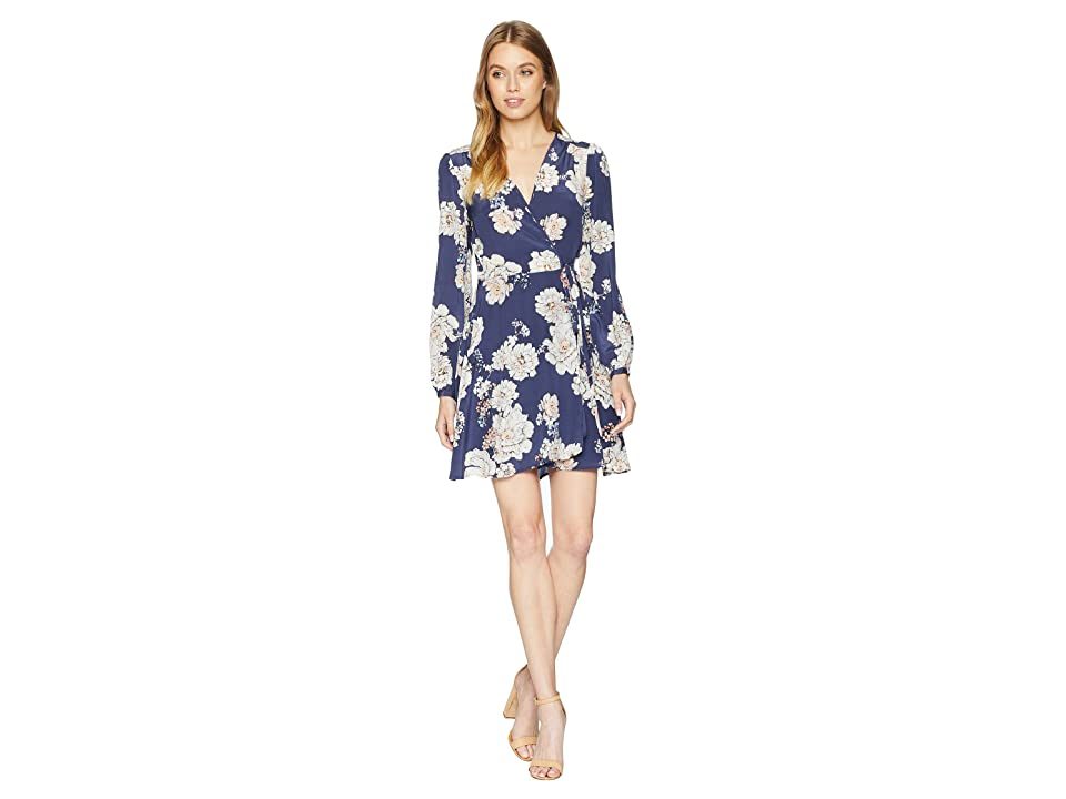 Yumi Kim Duchess Wrap Dress (Sweet Jasmine Midnight) Women