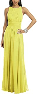TalinaDress Women Floor Length Chiffon Simple Formal Gown Bridesmaid Dress E098LF