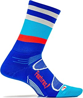 Feetures - Elite Light Cushion - Mini Crew - Athletic Running Socks for Men and Women