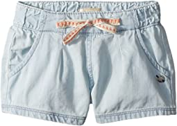 Roxy Kids - My Heart Skips Denim Shorts (Toddler/Little Kids/Big Kids)