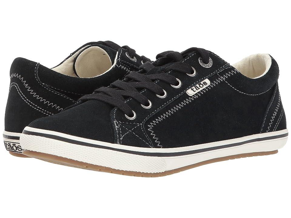 Taos Footwear Retro Star (Black Suede) Women