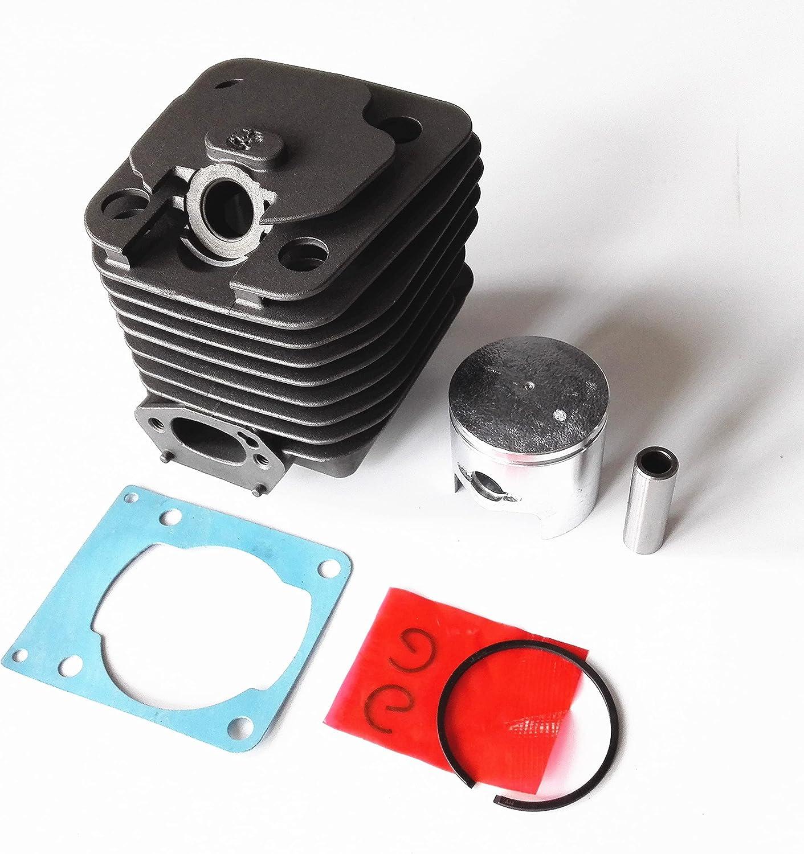 Buen sustituto 3800 38cc Cilindro de motosierra de gasolina y pistón For Dia: 39mm Fácil de reemplazar