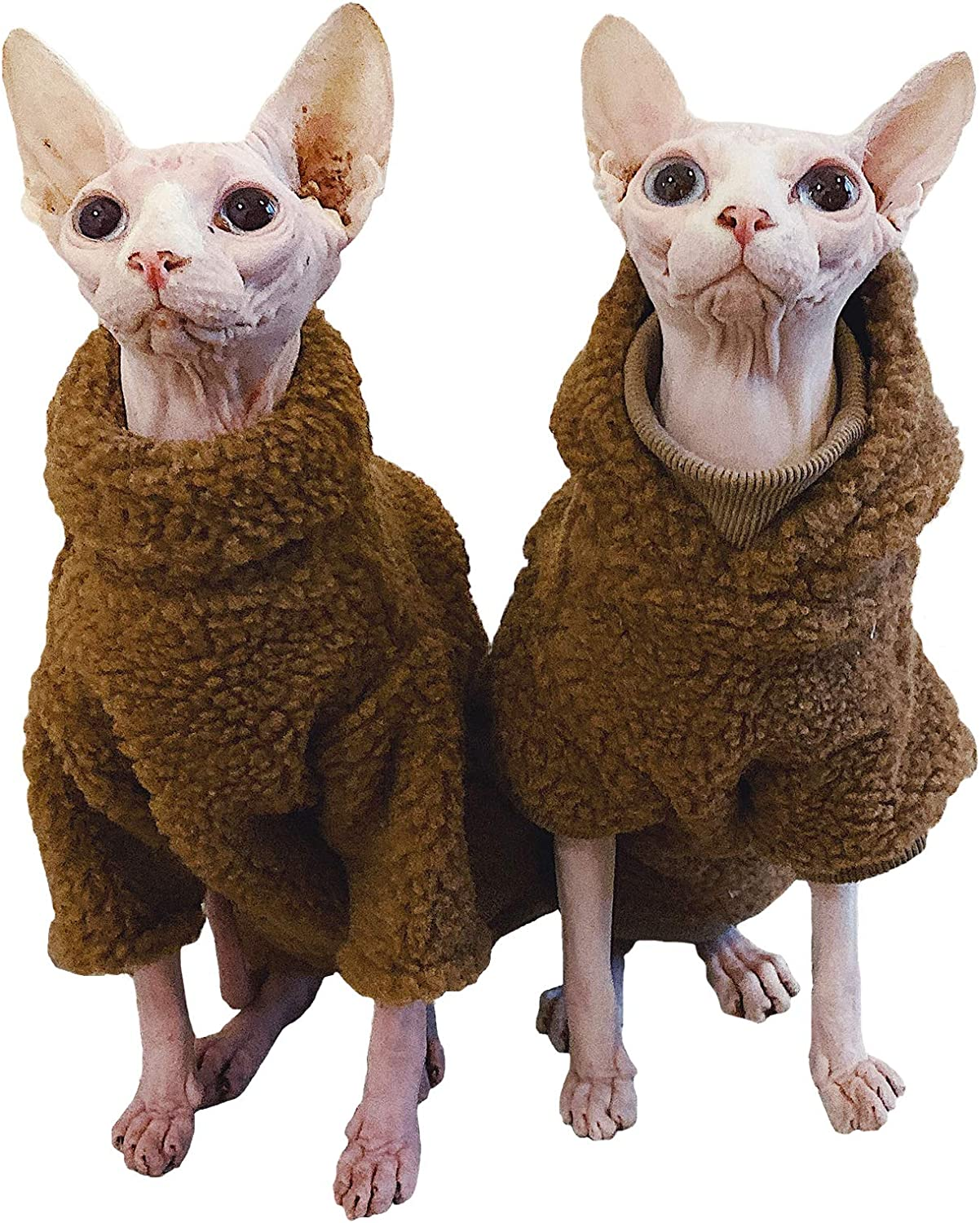 Bonaweite Hairless Cats Thick Camel Fashionable Lamb Sweater Mail order Autumn Wool for