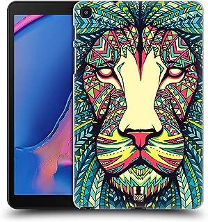 Head Case Designs Lion Aztec Animal Faces Hard Back Case Compatible for Galaxy Tab A 8.0 & S Pen 2019