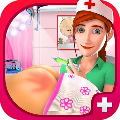 Simulador de inyección para bebés - Doctor Surgery Game