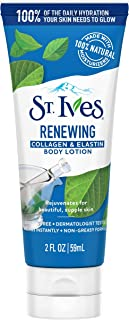 St. Ives St. Ives Renewing Body Lotion Collagen Elastin, Sensitive Skin, Paraben-Free, 100% Natural Moisturizers 2 Ounce, ...
