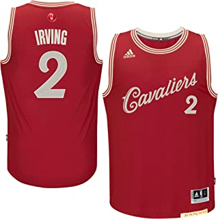 Kyrie Irving Cleveland Cavaliers #2 Red Youth X-Mas Replica Jersey