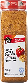 Club House, Quality Natural Herbs & Spices, One Step Seasoning, Roasted Garlic & Pepper, 660g