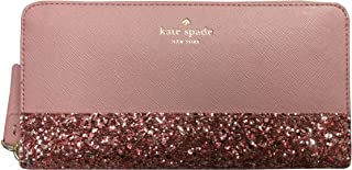 Kate Spade New York Neda Greta Court Leather Zip Around Continental Wallet