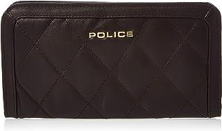 Police Gaia Mens Wallet, Card Case & Money Organizer, Brown