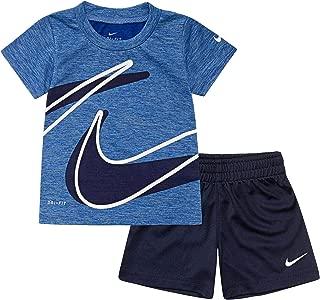Kids Baby Boy's Dri-Fit Short Sleeve T-Shirt and Shorts...