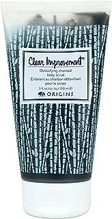Origins Clear Improvement Detoxifying Charcoal Body Scrub 5 Fl Oz / 150 Ml