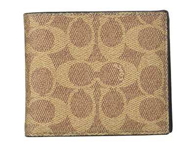 COACH 3-in-1 WalleT (Khaki) Bi-fold Wallet