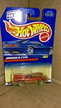 Hot Wheels Mattel 1999 1:64 Scale Red Jaguar D Type Die Cast Car Collector #997