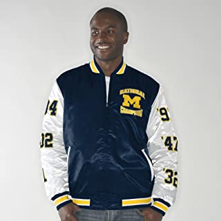 michigan satin jacket