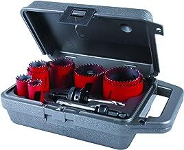 MK Morse MHS100 Bi-Metal Hole Saw Maintenance Kit, 12-Piece