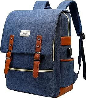 blue rucksack backpack
