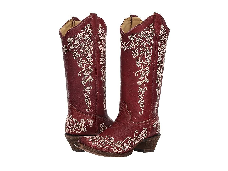 Corral Boots A3298 (Red) Cowboy Boots