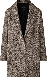 Massimo Dutti Women Flecked Wool Coat 6402/513