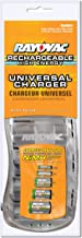 Rayovac PS3D Universal Battery Charger for AA, AAA, C and D Rechargeable Batteries