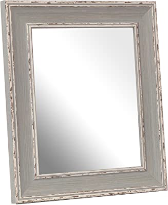 DekoArte VN009 - Espejos Venecianos Modernos De Pared | Espejos Decoración para Tu Salón Dormitorio, Entrada, Recibidor | Espejos Sofisticados Clásicos Color Plata | 1 Pieza 120 x 78 cm: Amazon.es: Hogar
