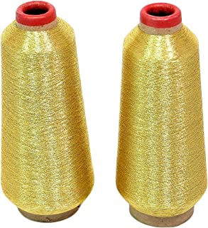 ThreadNanny Gold Metallic Machine Embroidery Threads - 10000 yards