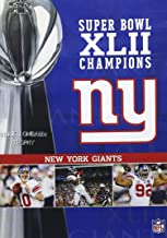 NFL Super Bowl XLII - New York Giants Championship