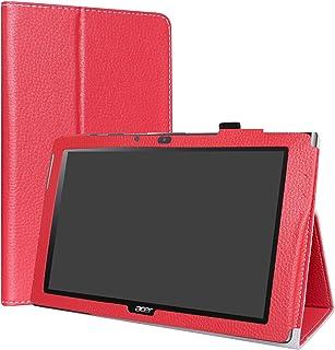 LiuShan Acer Iconia One 10 B3-A40 Funda, Folio Soporte PU Cuero con Funda Caso para 10.1