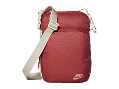 Nike Heritage Small Items 2.0 (Cedar/Desert Sand/Metallic Red Bronze) Bags