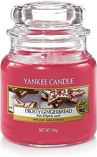 Yankee Candle vela aromática en tarro pequeño, galleta de jengibre