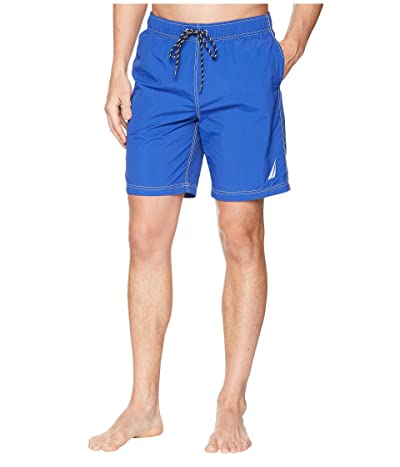 Nautica New Anchor Swim Trunk (Bright Cobalt) Men