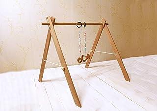 Montessori Nido Wooden Play Gym Frame. Big Wooden baby gym frame