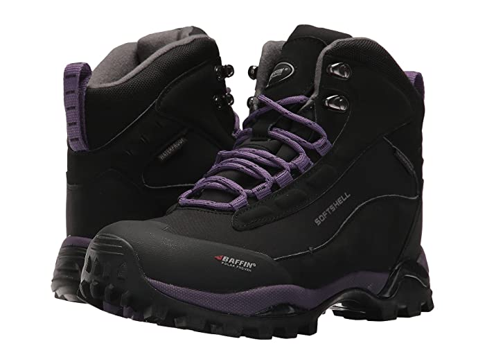 Baffin  Hike (Black/Plum) Womens Cold Weather Boots
